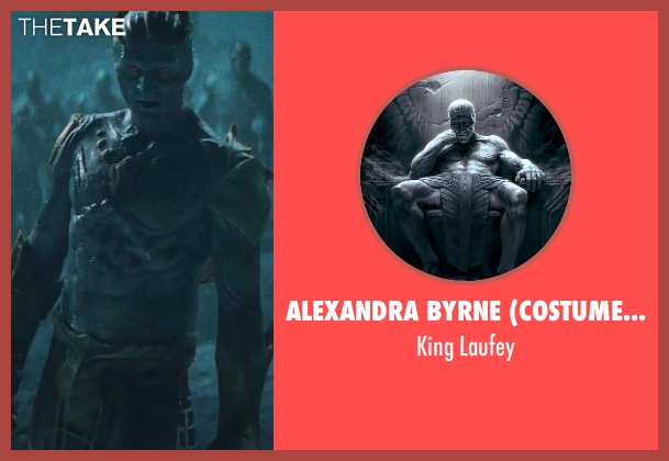 Alexandra Byrne (Costume Designer) laufey from Thor seen with Colm Feore (King Laufey)