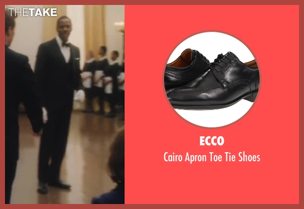 Ecco black shoes from Lee Daniels' The Butler seen with Colman Domingo (Freddie Fallows)
