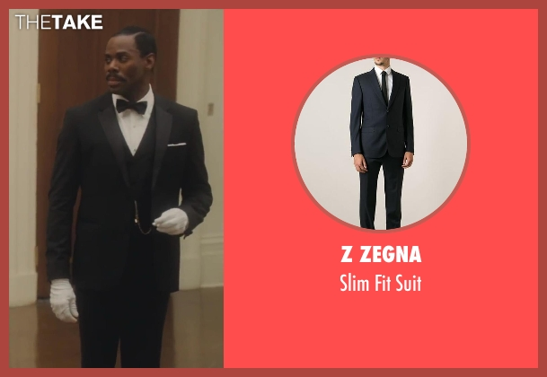 Z Zegna black suit from Lee Daniels' The Butler seen with Colman Domingo (Freddie Fallows)