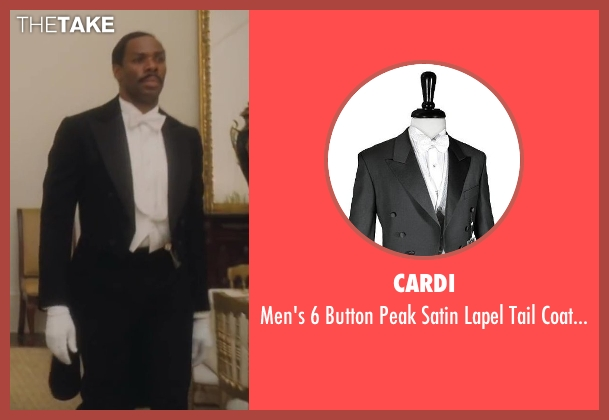 Cardi black tuxedo from Lee Daniels' The Butler seen with Colman Domingo (Freddie Fallows)