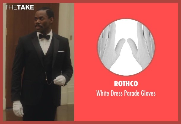 Rothco white gloves from Lee Daniels' The Butler seen with Colman Domingo (Freddie Fallows)