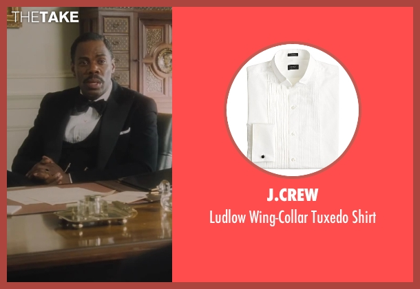 J.Crew white shirt from Lee Daniels' The Butler seen with Colman Domingo (Freddie Fallows)