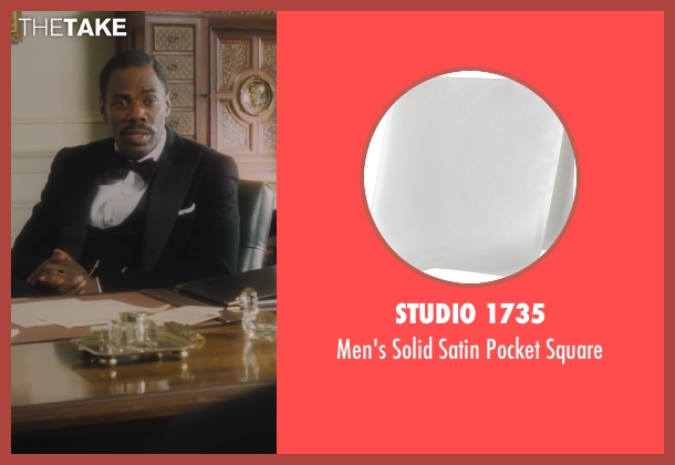 Studio 1735 white square from Lee Daniels' The Butler seen with Colman Domingo (Freddie Fallows)