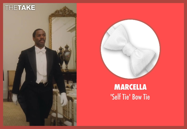 Marcella white tie from Lee Daniels' The Butler seen with Colman Domingo (Freddie Fallows)
