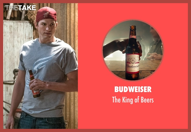 Budweiser beers from The Ranch seen with Colt Bennett (Ashton Kutcher)
