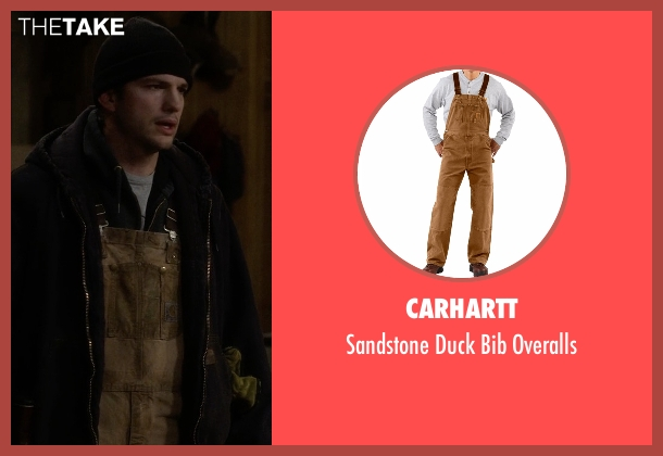 Carhartt brown overalls from The Ranch seen with Colt Bennett (Ashton Kutcher)