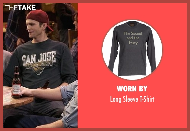 Worn By gray t-shirt from The Ranch seen with Colt Bennett (Ashton Kutcher)