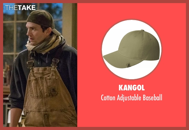 Kangol green baseball from The Ranch seen with Colt Bennett (Ashton Kutcher)