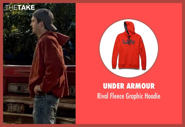 Under Armour orange hoodie from The Ranch seen with Colt Bennett (Ashton Kutcher)