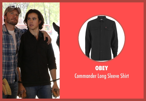 Obey black shirt from Nashville seen with Colt Wheeler   (Keean Johnson)