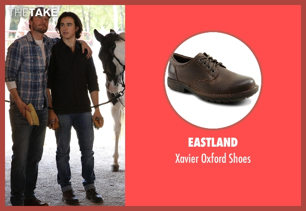 Eastland brown shoes from Nashville seen with Colt Wheeler   (Keean Johnson)