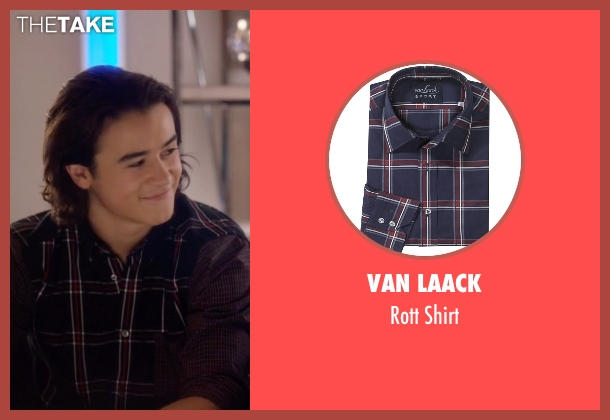 Van Laack red shirt from Nashville seen with Colt Wheeler   (Keean Johnson)
