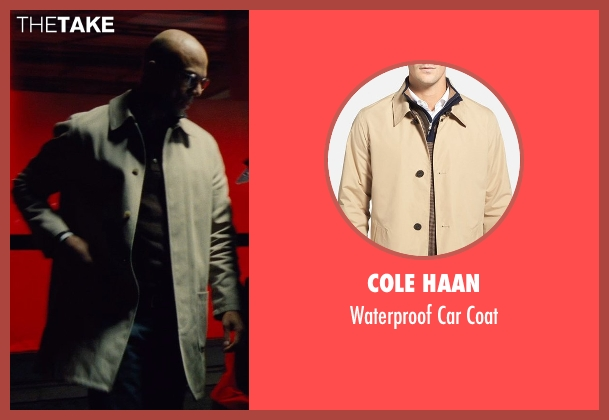 Cole Haan beige coat from Run All Night seen with Common (Mr. Price)