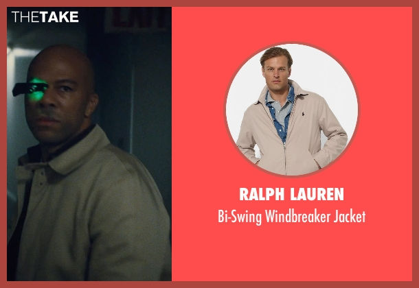 Ralph Lauren beige jacket from Run All Night seen with Common (Mr. Price)