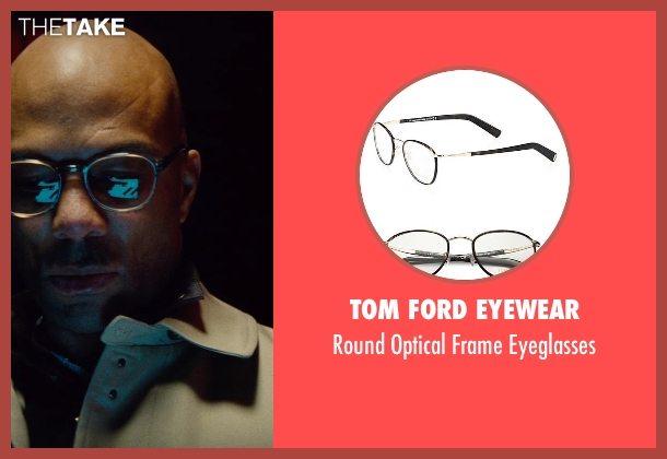 Tom Ford Eyewear black eyeglasses from Run All Night seen with Common (Mr. Price)