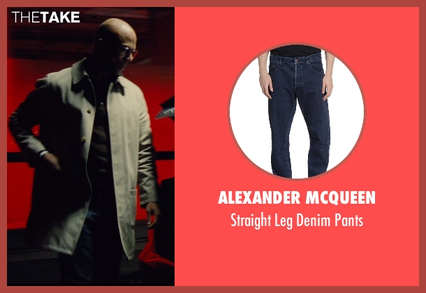 Alexander Mcqueen blue pants from Run All Night seen with Common (Mr. Price)