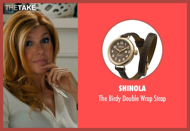 SHINOLA brown strap from This Is Where I Leave You seen with Connie Britton (Tracy)