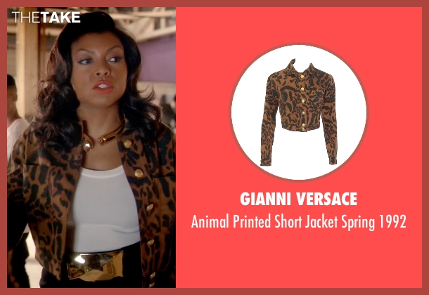 Gianni Versace 1992 from Empire seen with Cookie Lyon (Taraji P. Henson)