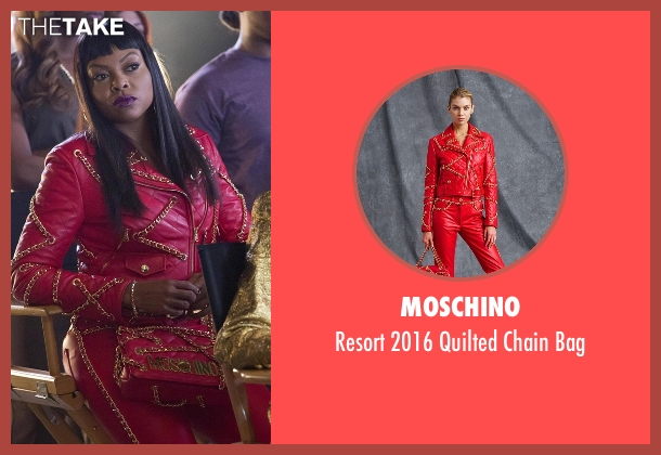 Moschino bag from Empire seen with Cookie Lyon (Taraji P. Henson)