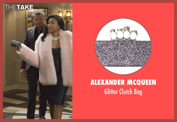 Alexander McQueen bag from Empire seen with Cookie Lyon (Taraji P. Henson)