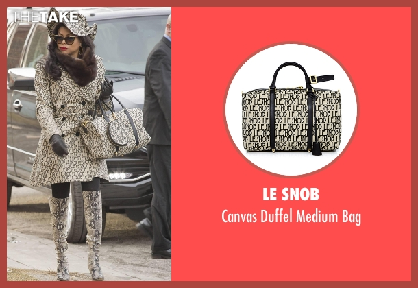 Le Snob beige bag from Empire seen with Cookie Lyon (Taraji P. Henson)