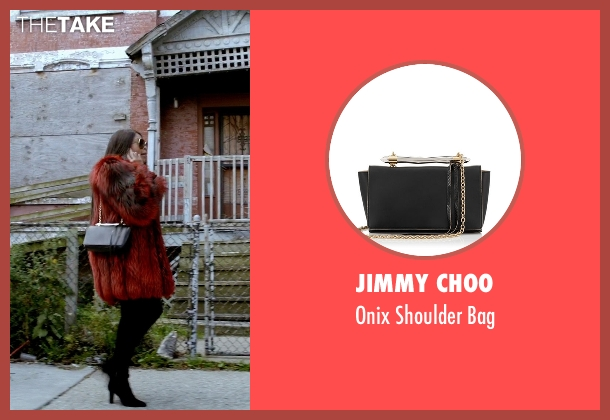 Jimmy Choo black bag from Empire seen with Cookie Lyon (Taraji P. Henson)