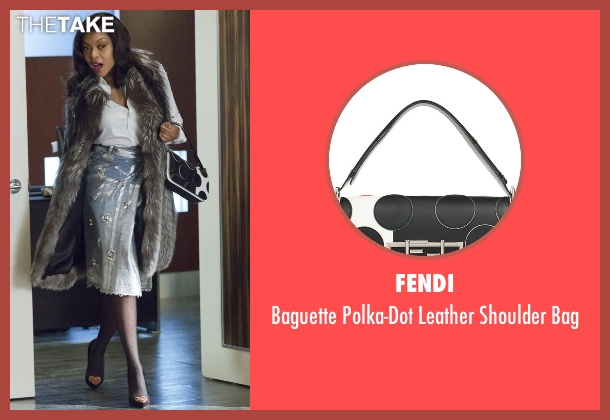 Fendi black bag from Empire seen with Cookie Lyon (Taraji P. Henson)