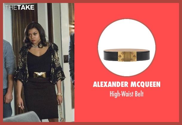Alexander Mcqueen black belt from Empire seen with Cookie Lyon (Taraji P. Henson)