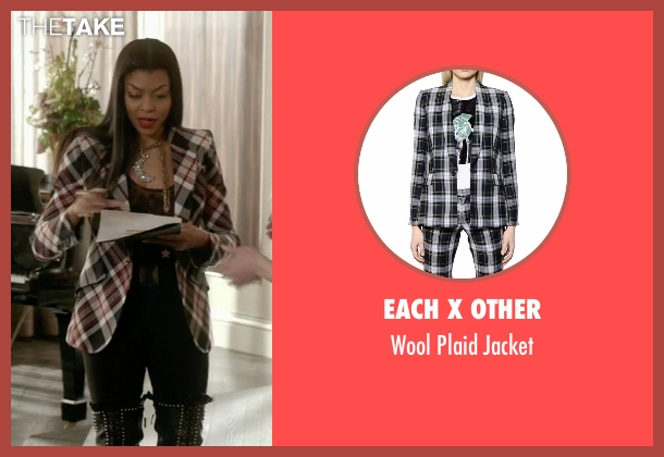 Each X Other black jacket from Empire seen with Cookie Lyon (Taraji P. Henson)