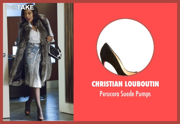 Christian Louboutin black pumps from Empire seen with Cookie Lyon (Taraji P. Henson)