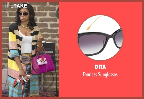 Dita black sunglasses from Empire seen with Cookie Lyon (Taraji P. Henson)