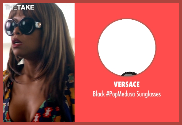 Versace black sunglasses from Empire seen with Cookie Lyon (Taraji P. Henson)