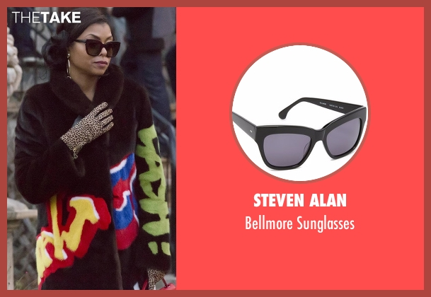 Steven Alan black sunglasses from Empire seen with Cookie Lyon (Taraji P. Henson)