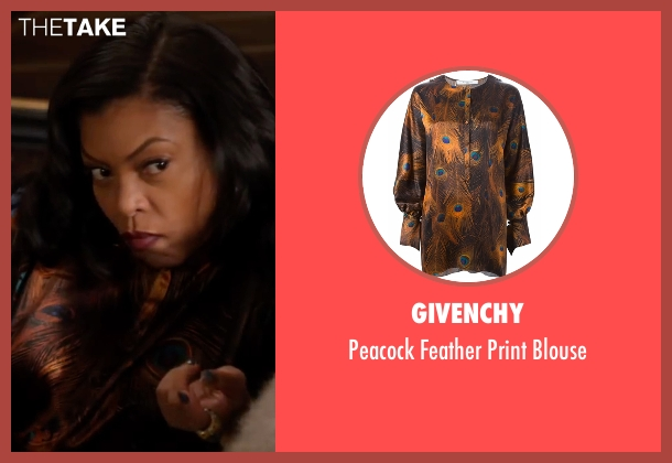 Givenchy blouse from Empire seen with Cookie Lyon (Taraji P. Henson)