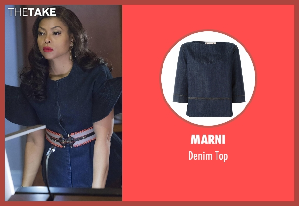 Marni   blue top from Empire seen with Cookie Lyon (Taraji P. Henson)