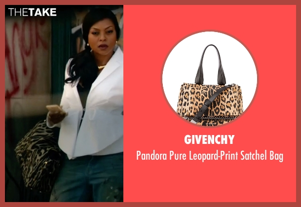 Givenchy brown bag from Empire seen with Cookie Lyon (Taraji P. Henson)