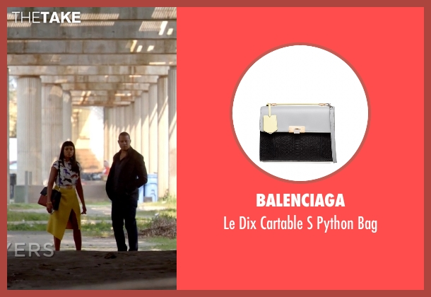 Balenciaga brown bag from Empire seen with Cookie Lyon (Taraji P. Henson)