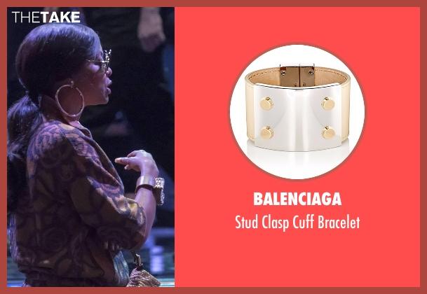 Balenciaga brown bracelet from Empire seen with Cookie Lyon (Taraji P. Henson)