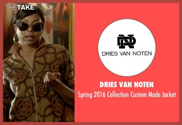 Dries Van Noten brown jacket from Empire seen with Cookie Lyon (Taraji P. Henson)