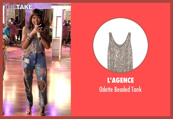 L'agence brown tank from Empire seen with Cookie Lyon (Taraji P. Henson)