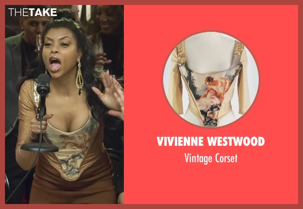 Vivienne Westwood corset from Empire seen with Cookie Lyon (Taraji P. Henson)