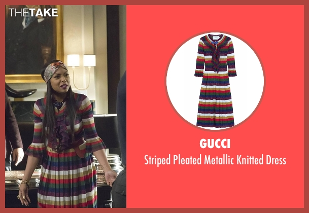 Gucci dress from Empire seen with Cookie Lyon (Taraji P. Henson)