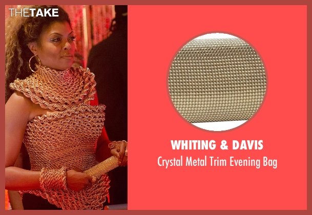 Whiting & Davis gold bag from Empire seen with Cookie Lyon (Taraji P. Henson)