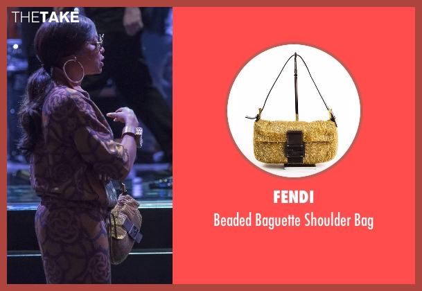Fendi gold bag from Empire seen with Cookie Lyon (Taraji P. Henson)
