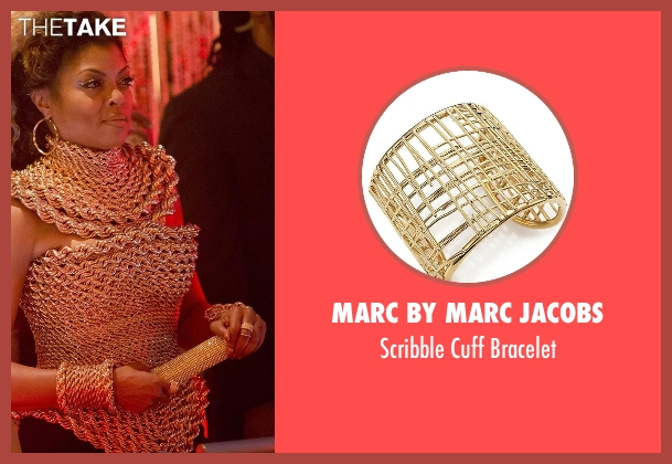Marc by Marc Jacobs gold bracelet from Empire seen with Cookie Lyon (Taraji P. Henson)