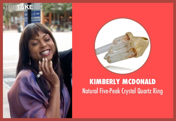 Kimberly McDonald gold ring from Empire seen with Cookie Lyon (Taraji P. Henson)