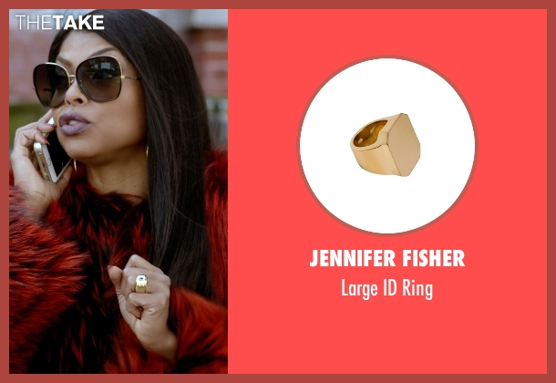 Jennifer Fisher gold ring from Empire seen with Cookie Lyon (Taraji P. Henson)