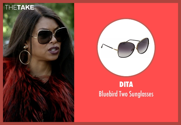 Dita gold sunglasses from Empire seen with Cookie Lyon (Taraji P. Henson)