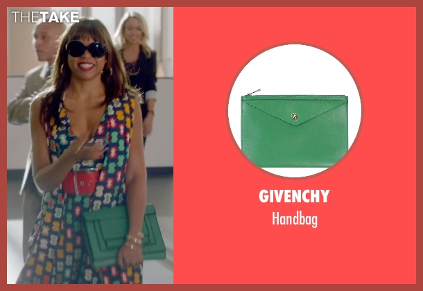 Givenchy green handbag from Empire seen with Cookie Lyon (Taraji P. Henson)