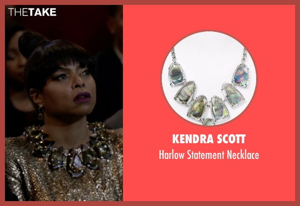 Kendra Scott green necklace from Empire seen with Cookie Lyon (Taraji P. Henson)